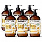 3-Pack 12.5-oz Everyone Liquid Hand Soap (Meyer Lemon and Mandarin) (2 for $15) & More