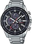 Casio Men's Edifice Quartz Watch with Stainless-Steel Strap $79.99