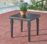 Home Decorators Collection Dunham Manor Metal Antique Bronze Outdoor End Table $53.70 (70% off) and more