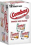 12-Count Combos Variety Pack Fun Size Baked Snacks $3.36