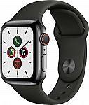 Apple Watch Series 5 (GPS + Cellular) 40mm $379