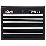 CRAFTSMAN 2000 Series 26-in W x 19.75-in H 5-Drawer Steel Tool Chest $79.50 & More