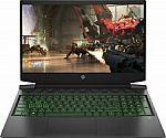 "HP 16-a0032dx Pavillion 16.1"" Gaming Laptop (i5-10300H 8GB, 512GB SSD + 32GB Optane, GTX1660Ti) $699.99"