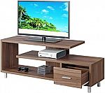 "Convenience Concepts Seal II 60"" TV Stand (Cappuccino) $109"