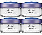 L'Oreal 1.7-Oz Collagen Face Moisturizer (4 for $23) & more