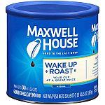 30.65oz Maxwell House Wake Up Roast Medium Roast Ground Coffee $4