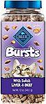 12-oz Blue Buffalo Bursts Crunchy Cat Treats $3.34