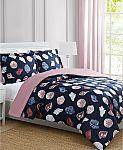 Macys 3-Piece Comforter Set (Full, Queen, or King) $15