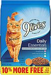 13.2-Lbs 9Lives Daily Essentials Dry Cat Food $5.75