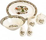 Gibson Home Christmas Toile, 7 PC Serving Set $7