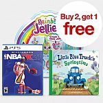 Target - Kids' Books, Games, Movies - Buy 2 Get 1 Free