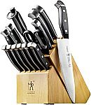 Henckels International Fine Edge Pro 15-Piece Knife Block Set $90