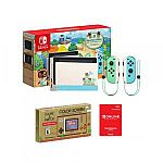 Nintendo Switch Console 32GB Special Animal Crossing + 12 Month Family Membership + Nintendo Game & Watch $359.99