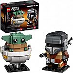 LEGO BrickHeadz Star Wars The Mandalorian & The Child 75317 Building Kit New 2020 (295 Pieces) $15.99