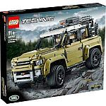 LEGO Technic: Land Rover Defender Collector's Model Set $150 and more