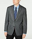 Michael Kors Men's Modern-Fit Patterned Blazer $28