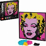 LEGO ART Andy Warhol's Marilyn Monroe 31197 $96 & More