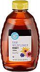 32 oz Happy Belly Raw Wildflower Honey $6.50