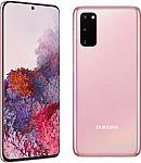 Samsung Galaxy S20 5G 128GB Smartphone (Pink) (Unlocked) $470