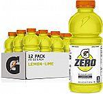 12-Pk 20oz Gatorade Zero Sugar Thirst Quencher $6.94
