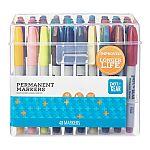 48-Count Pen + Gear Permanent Markers (Ultra Fine Tip) $1 (YMMV, Min. 2 Purchase)
