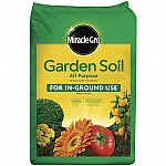 0.75 cu. ft Miracle-Gro Garden Soil $2.47