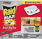 8-Count Raid Max Double Control Ant Baits $6.04