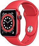 Apple Watch Series 6 40mm GPS, Red $319.99
