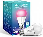 TP-Link Kasa Smart WiFi Led Light Bulb $15