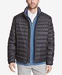 Tommy Hilfiger Men's Down Quilted Packable Jacket $35 (Org $195) + FS