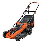 BLACK+DECKER 40 V MAX Lithium Ion 20-in Mower $259 and more