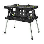 Keter Folding Work Table with Mini Clamps $39.98