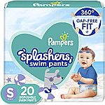 18-Ct Pampers Splashers Swim Diapers $5.52