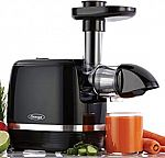 Omega H3000D Cold Press 365 Horizontal Juicer $80 (Reg. $150)