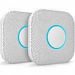 2-Pack Google Nest Protect Smoke Alarm and Carbon Monoxide Detector $169.99