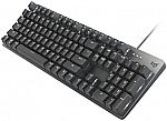 Logitech K845 Backlit Mechanical Keyboard w/ Red Switches $48, MX Master 3 Mouse $80