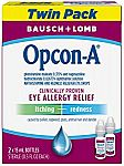 2-Pack 15ml Bausch & Lomb Opcon-A Allergy Relief Eye Drops $6.25