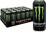 24-Pack 16-Oz Monster Energy Drink (Zero Ultra or Original) $25