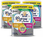 3-Count Similac Go & Grow Toddler Milk-Based Powder $34.61