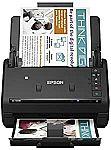 Epson WorkForce ES-500W Wireless Color Duplex Document Scanner (Renewed) $233.45