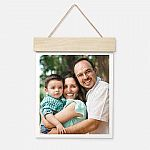 "Walgreens: 11""x14"" Wood Hanger Board Print $7.50"