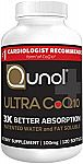 120-Ct Qunol Ultra CoQ10 100mg Antioxidant for Heart Health $21 & More