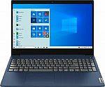 "Lenovo Ideapad 3 15 15.6"" HD Touch-Screen Laptop (i3-10110U 8GB 256GB) $369.99"