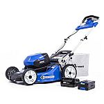 Kobalt 80V Max Brushless 21-in Self-Propelled Cordless Electric Lawn Mower with 6Ah Battery $449 (save $150)