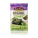 12-Count 0.16-Oz Annie Chun's Organic Seaweed (Wasabi) $5.22