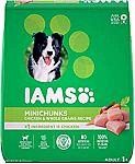 30 - Lb IAMS Minichunks Adult Dry Dog Food $21
