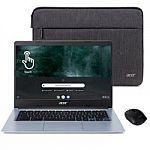 "Acer CB314 14"" Touchscreen Chromebook HD Laptop (N4020, 4GB, 32GB) $219.99"