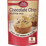 9-Pack 6.5-Oz Betty Crocker Muffin Mix $6.75