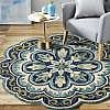 LR Resources 6 ft. x 6 ft. Round Indoor Area Rug $60 (80% Off)