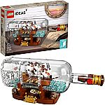 LEGO Ideas Ship in a Bottle 92177 Expert Building Kit (962-Pieces) $49 (orig. $80)